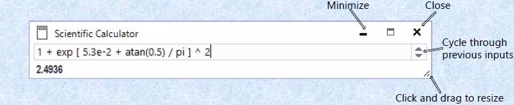 Windows 8 Scientific Calculator full